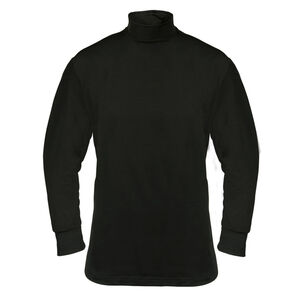 Elbeco UFX Base Layer Mock T Neck Size 3XL Nylon/Micro Poly/Spandex Black