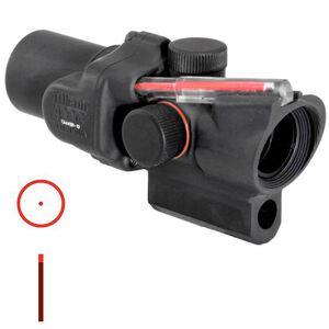 Trijicon ACOG TA44SR-10 1.5x16 Rifle Scope Illuminated Red Circle Dot Reticle 1/2 MOA with Short M16 Base Housing Aluminum Black TA44SR-10
