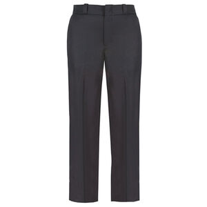 Elbeco TEXTROP2 Women's 4 Pocket Pants Size 12 Unhemmed Polyester Serge Weave Midnight Navy