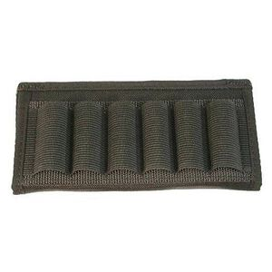 Uncle Mike's Shotgun 6 Shell Belt Slide Black Nylon