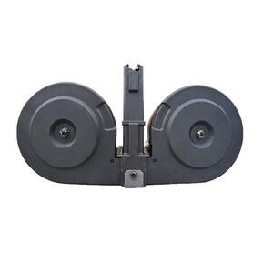 KCI Ruger Mini-14 100 Round Drum Magazine .223 Remington Polymer Black Finish