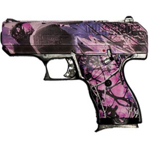 "Hi-Point Compact Semi Auto Pistol .380 ACP 3.5"" Barrel 8 Rounds Polymer Frame Pink Camo"
