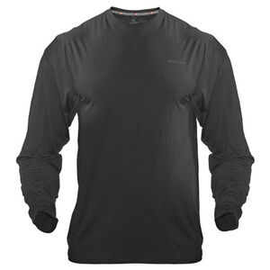 Medalist Men's Tactical Shield Long Sleeve Crew Shirt Polyester/Spandex Medium Black M4625BLM