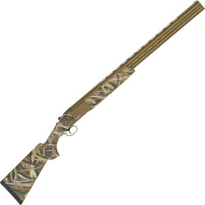 "Tristar Hunter Magnum O/U Shotgun 12 Gauge 28"" Barrels 2 Rounds 3.5"" Chambers Mossy Oak Duck Blind Camo Synthetic Stock with Bronze Finish"