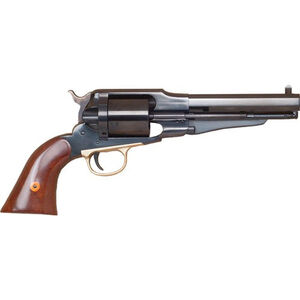 "Cimarron Firearms 1858 New Model Army .38 Special Single Action Revolver 6 Rounds 5.5"" Barrel Walnut Grips Blued Finish"