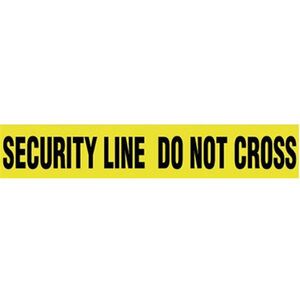 "Pro-Line Barricade Tape 1000' ""Security"" Tape 3"" Width BT06"