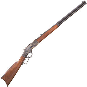 """Cimarron 1873 Sporting Lever Action Rifle .357 Mag 24"""" Octagon Barrel 13 Rounds Case Hardened Receiver Walnut Stock Blued CA272"""