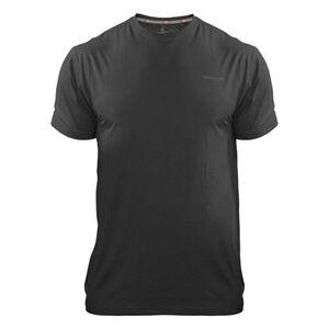 Medalist Men's Tactical Shield Short Sleeve Crew Shirt Polyester/Spandex Small Black M4615BLS
