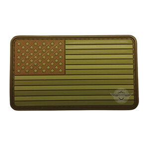 5ive Star Gear PVC Morale Patch American Flag Multicam