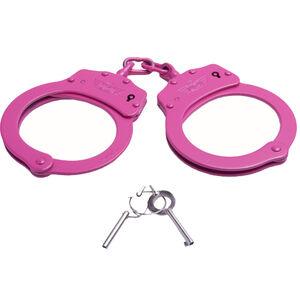 UZI Chain Handcuff in Pink, UZI-HC-C-PINK