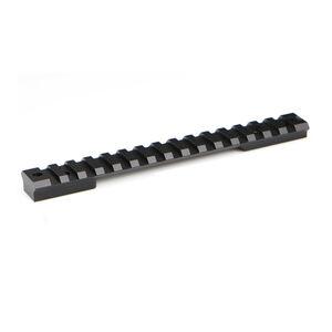 Warne XP Tactical Savage Round Receiver Short Action 1-Piece Scope Rail Aluminum Black