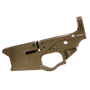 American Tactical Imports AR-15 Omni Hybrid Maxx Stripped Lower Receiver Multi Caliber Metal Reinforced Polymer Construction Flat Dark Earth