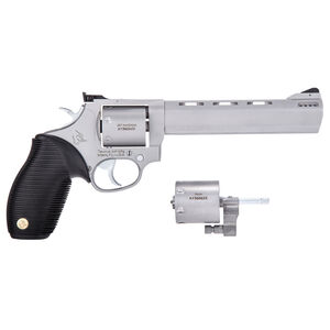 """Taurus Tracker 692 .38 Spl/.357 Mag/9mm Double Action Revolver 6.5"""" Barrel 7 Rounds Fixed Front Sight/Adjustable Rear Sight Ribber Grip Matte Stainless Finish"""