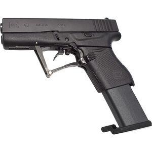 "Full Conceal M3D G43 9mm Luger Folding Semi Auto Pistol 10 Rounds 3.39"" Barrel Polymer Frame Black"