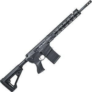 "Savage Arms MSR 10 Hunter Semi Auto Rifle .338 Federal 20 Rounds 16.125"" Barrel Free Float M-LOK Handguard AXIOM Stock Black"