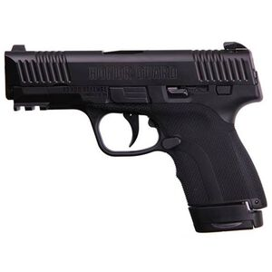 "Honor Defense Honor Guard Long Slide Semi Auto Pistol 9mm 3.8"" Barrel 7/8 Rounds Manual Safety Black"