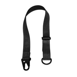 """Cole-TAC Gear Tether 6-10"""" with HK Snap and D-Ring"""