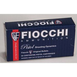 Fiocchi .38 Special Ammunition 50 Rounds LWC 148 Grains