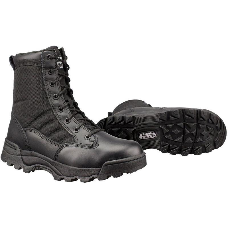 "Original S.W.A.T. Classic 9"" Men's Boot Size 14 Regular Non-Marking Sole Leather/Nylon Black 115001-14"