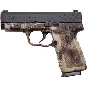 "Kahr Arms CW9 9mm Luger Semi Auto Pistol 3.6"" Barrel 7 Rounds Polymer Frame Duo Tone Black/Kryptek Camo"