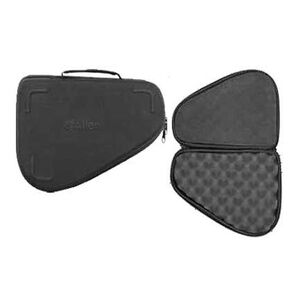 "Allen Medium Molded Handgun Case Black Hard 8.5""x6.5"""