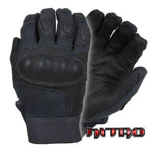 Damascus Gear DMZ33 Nitro Kevlar Tactical Gloves w/Carbon-Tek Fiber Knuckles 2XL Black