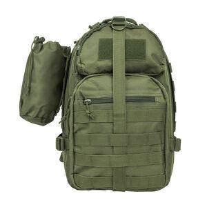 Small Backpack/Bottle Holder Green