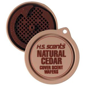Hunter's Specialties Natural Cedar Scent Wafers 3 per Container