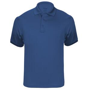 Elbeco UFX Tactical Polo Men's Short Sleeve Polo 3XL 100% Polyester Swiss Pique Knit Royal Blue