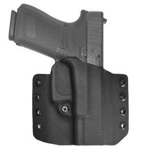 """Comp-Tac Warrior Holster GLOCK 29/30/SF with rail OWB Belt Slide Right Hand 1.5"""" Belt Loops Kydex Black"""