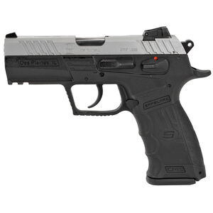 "SAR Arms CM9 9mm Luger Semi Auto Pistol 3.8"" Barrel 17 Rounds Magazine Adjustable 3 Dot Sights Ambidextrous Controls Picatinny Rail Two Tone"