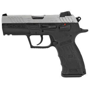 "SAR Arms CM9 9mm Luger Semi Auto Pistol 3.8"" Barrel 17 Rounds Magazine Adjustable 3 Dot Sights Ambidextrous Controls Picatinny Rail Two Tone"