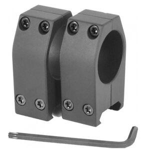 EGW Practical Scope Rings 1 inch Tube High Height Aluminum Matte Black