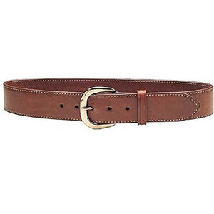 """Galco Gunleather SB2 Sport Belt 1.5"""" Wide Brass Buckle Leather Size 44 Tan"""
