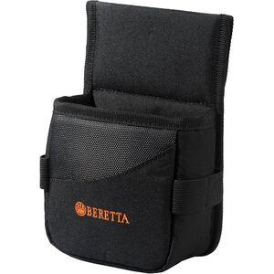 "Beretta Uniform Pro Black Edition Cartridge Holder 5""x3""x5"" Belt Pouch Synthetic Fabric Black/Orange"
