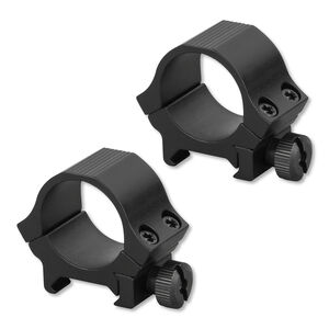 "Sun Optics USA Sport Rings 1"" Low Standard Dovetail Aluminum Black"