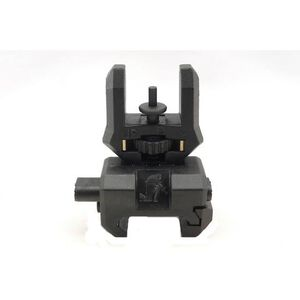 CAA FFS AR-15 Picatinny Rail Folding Up Front Sight Black Polymer and Aluminum