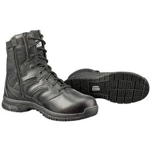 """S.W.A.T. Force 8"""" SZ Men's Boot 6 Reg Leather/Nylon Blk"""