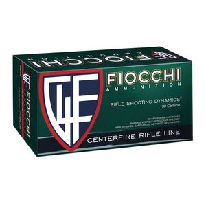 Fiocchi Shooting Dynamics .30 Carbine Ammunition 50 Rounds 110 Grain Full Metal Jacket 2000fps