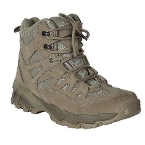 """Voodoo Tactical 6"""" Tactical Boot Nylon/Leather Size 12 Wide Khaki Tan 04-968083192"""