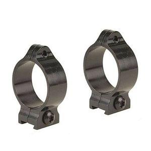 """Browning 1"""" Vertically Split Rings Intermediate Matte Black"""