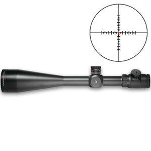 Sightron SIII Series 10-50x60 Riflescope Long Range Illuminated Mil Hash Reticle 30mm Tube .05 MIL Adjustable Objective Matte Black Waterproof 25004