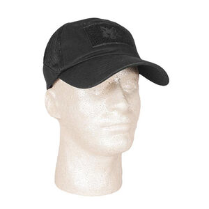 Fox Outdoor Mesh Tactical Cap Black 78-31