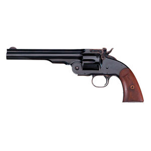 "Taylor's & Co Schofield Top Break Revolver 45 LC 7"" Barrel 6 Rounds Walnut Grip Blued"