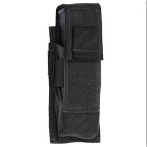 Tac Shield Single Universal Pistol Magazine MOLLE Pouch Nylon Black T3601BK