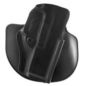 Safariland Model 5198 Paddle/Belt Loop Outside the Waistband Holster Right Hand Draw GLOCK 34/35/41 SafariLaminate Construction STX Plain Black