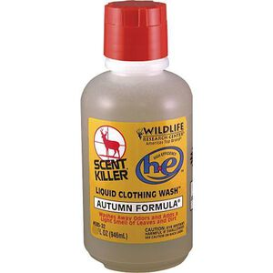 Wildlife Research Center Scent Killer H-E Autumn Formula Liquid Clothing Wash 18 fl. oz.