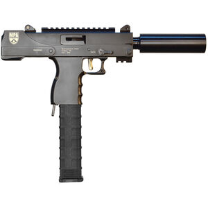 "MasterPiece Arms Defender Side Cocking Semi Automatic Pistol 9mm Luger 6"" Threaded Barrel 30 Rounds Parkerized Finish MPA30SST"