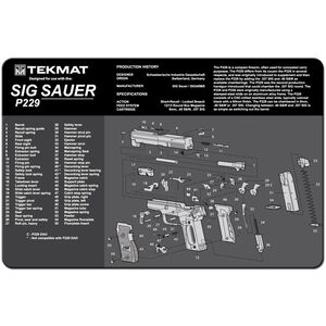 """TekMat SIG P229 Armorer's Mat Neoprene 11""""x17"""""""