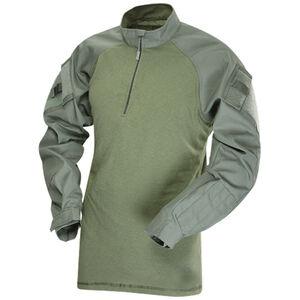 Tru-Spec T.R.U. 1/4 Zip Combat Shirt 65/35 Poly/Cotton Rip-Stop